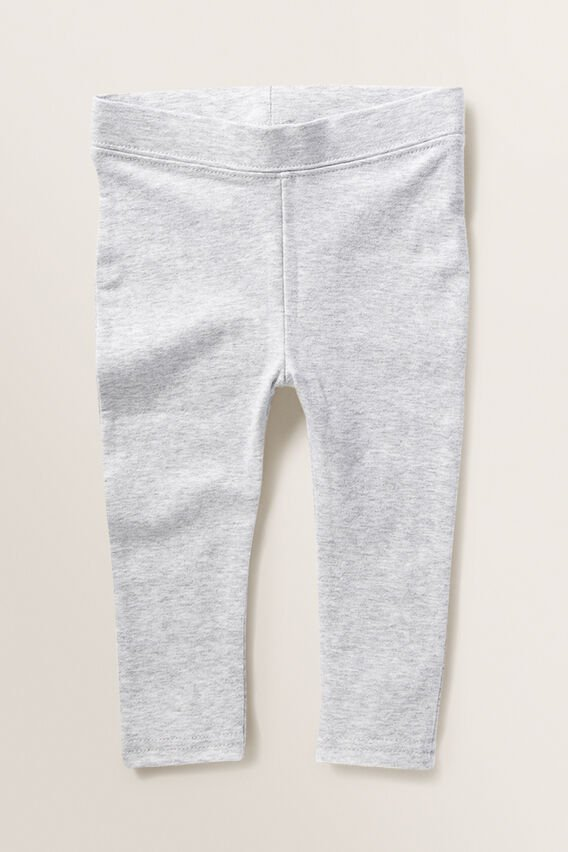 Basic Leggings  LIGHT GREY MARLE  hi-res