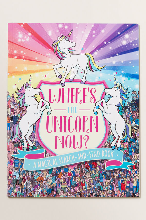Where Is The Unicorn Now Book  MULTI  hi-res