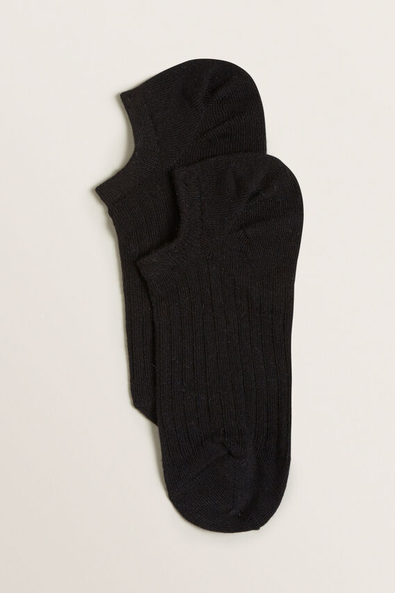 Sneaker Sock  TRUE BLACK  hi-res