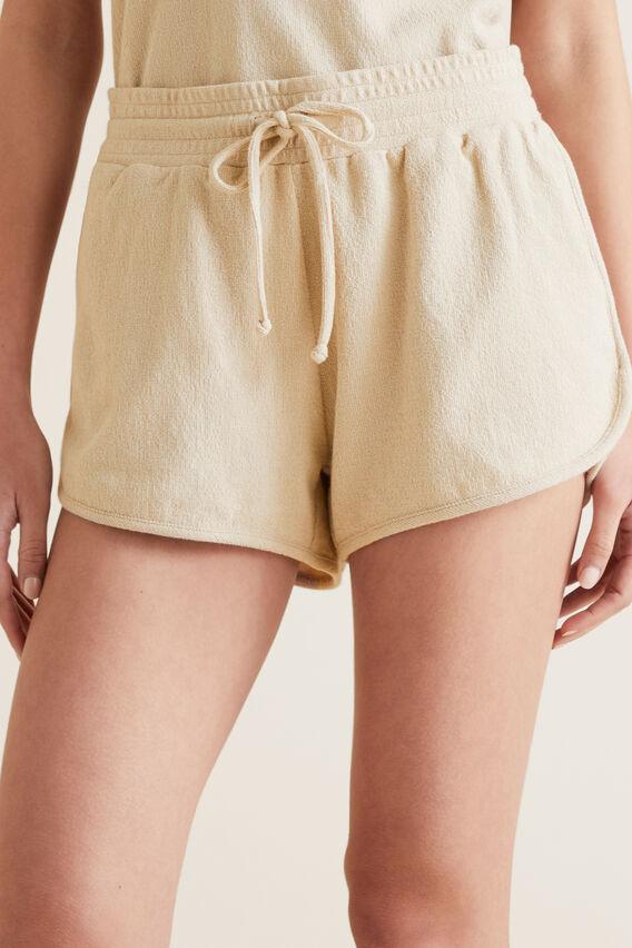Textured Jersey Short  SAND DUNE  hi-res