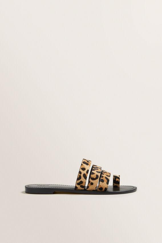 Lea Leather Sandal  OCELOT  hi-res