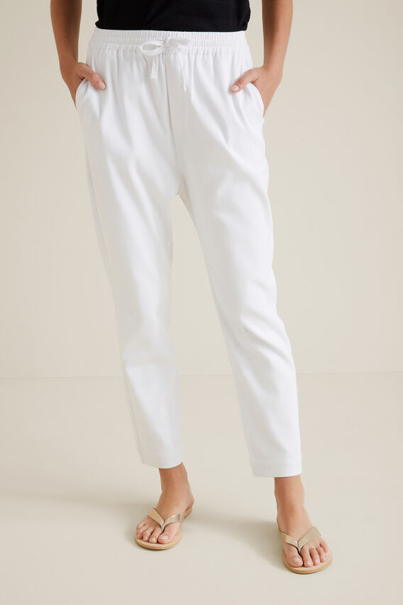 Casual Drill Pant  WHISPER WHITE  hi-res