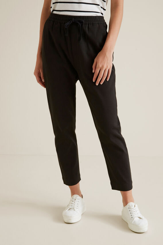 Casual Drill Pant  WASHED BLACK  hi-res