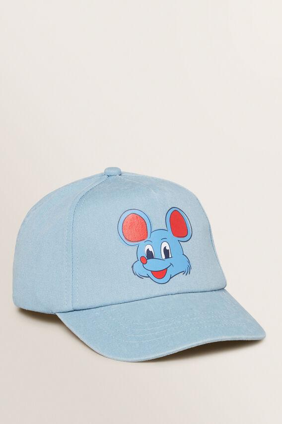 Mouse Cartoon Cap  CLOUD BLUE  hi-res
