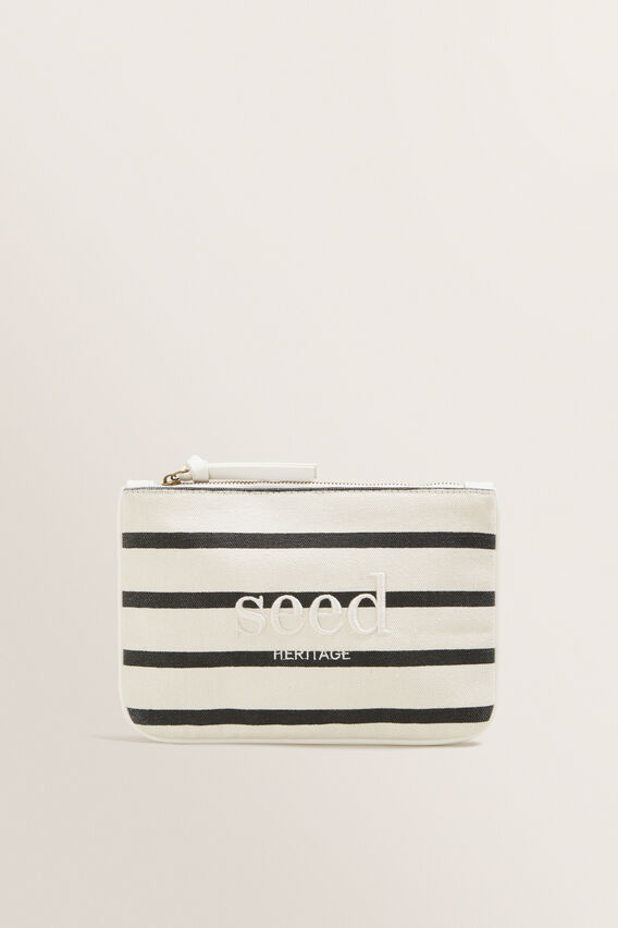 Seed Pouch  BLACK STRIPE  hi-res