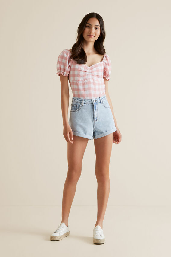 Gingham Top  POMELO  hi-res