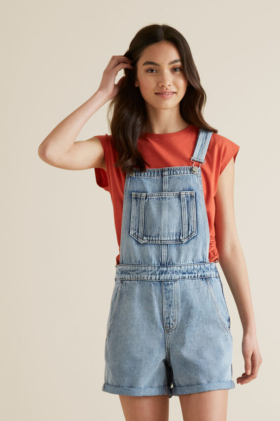Denim Overall  SKY WASH  hi-res
