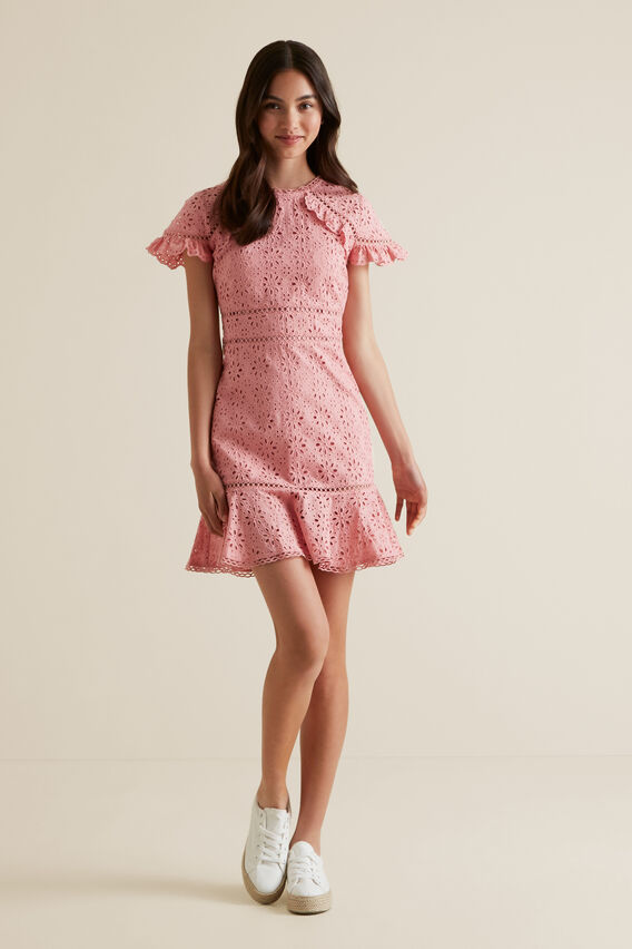 Broderie Dress  POMELO  hi-res