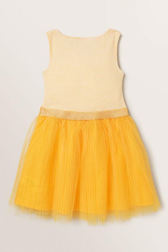 Pleat Tutu Dress  MARIGOLD  hi-res