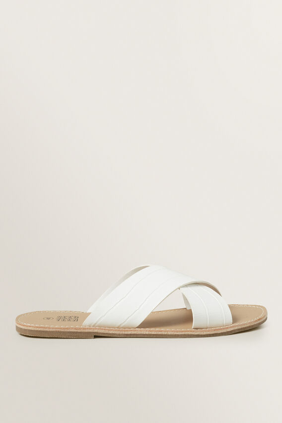 Teen Sandal  WHITE  hi-res