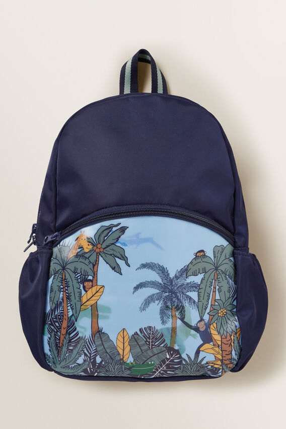 Dino Backpack  MIDNIGHT BLUE  hi-res