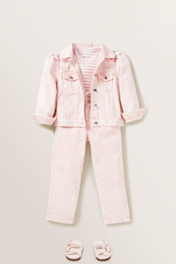 Mom Jeans  ROSE ACID WASH  hi-res