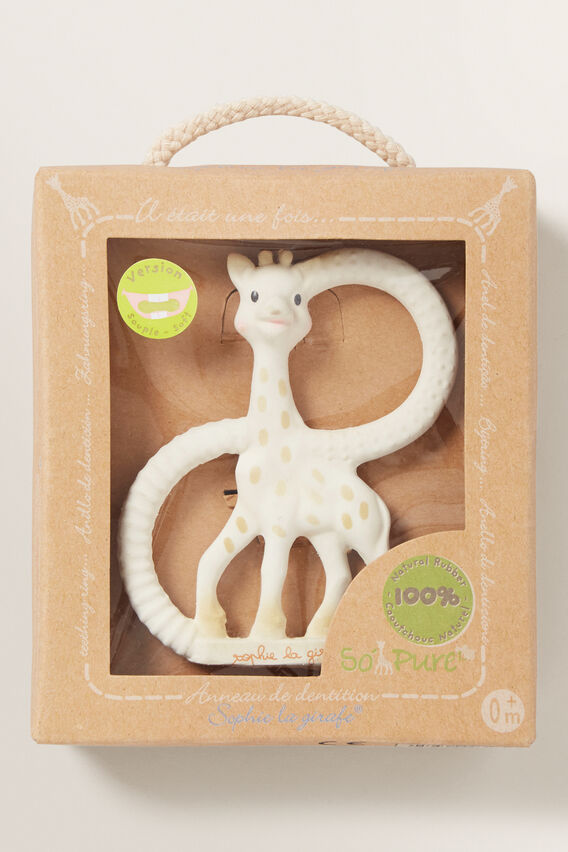 Sophie Giraffe Teething Ring  MULTI  hi-res