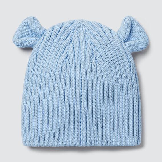 Novelty Rib Beanie  DUSK BLUE  hi-res