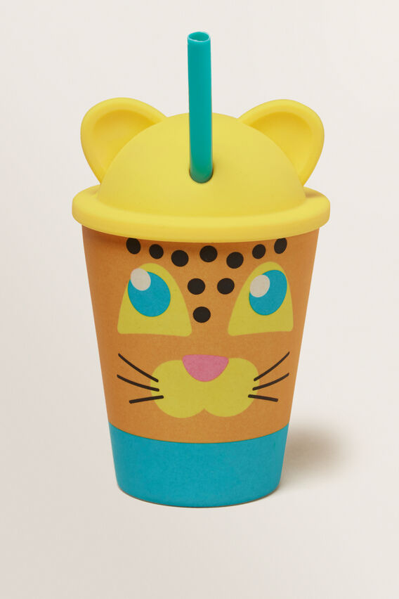 Leopard Eco Kids Tumbler  MULTI  hi-res