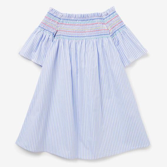 Rainbow Shirred Dress  BLUEBELL  hi-res