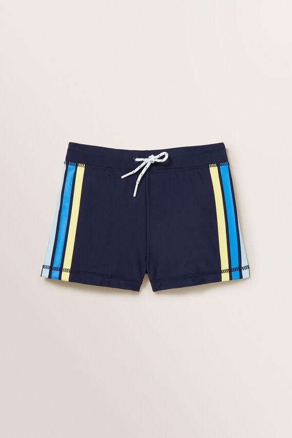 Retro Stripe Short  MIDNIGHT BLUE  hi-res