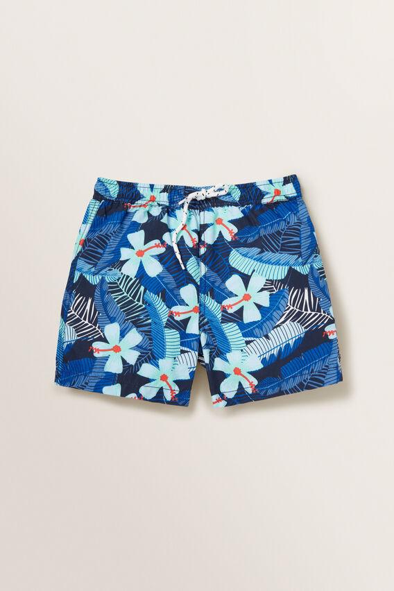 Tropical Boardshort  MIDNIGHT BLUE  hi-res