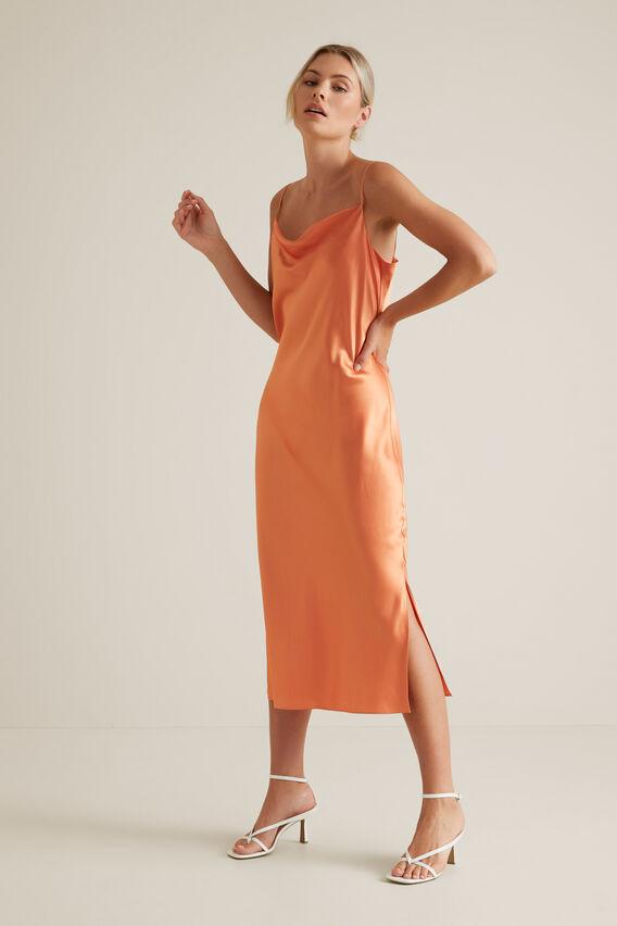 Slip Dress  SOFT CORAL  hi-res