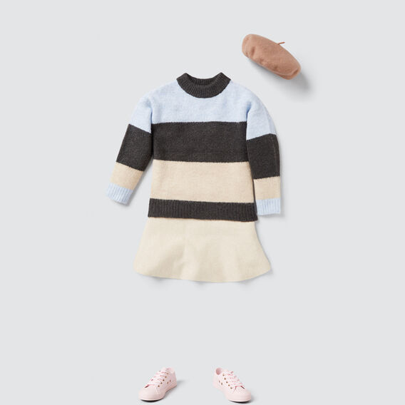 Knit Skirt  OAT MARLE  hi-res