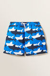 Shark Yardage Boardie, BLUE CRUSH, hi-res