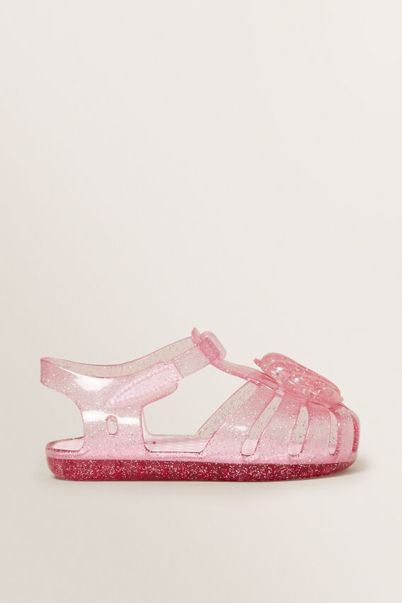 Shell Jelly Sandals  PINK  hi-res