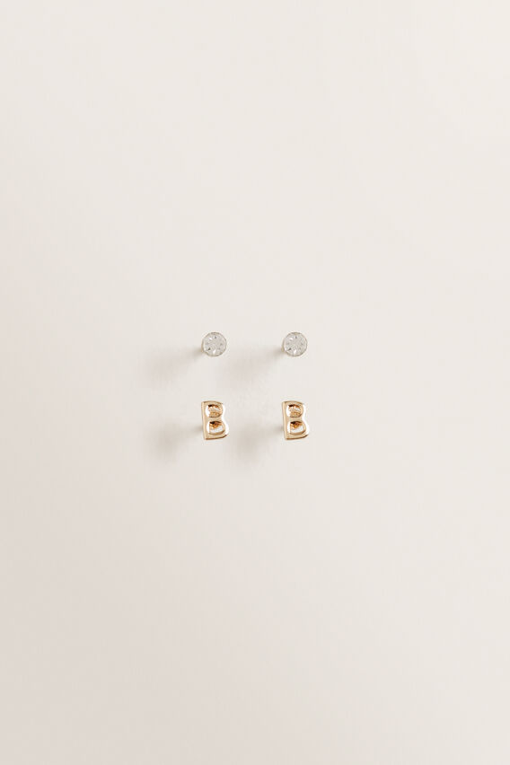 Initial Earring Pack  B  hi-res