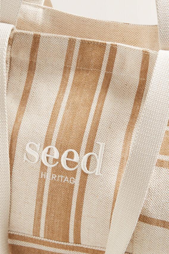Seed Overnight Bag  NATURAL STRIPE  hi-res