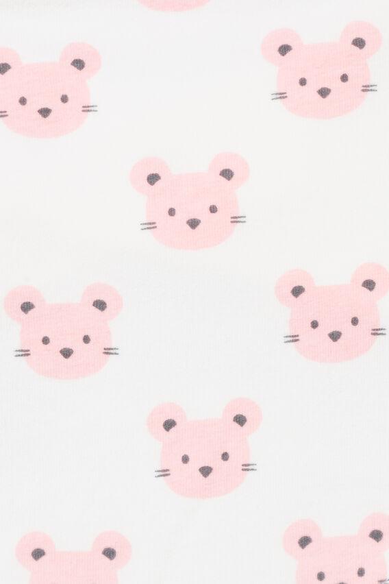 Mouse Print Bandana Bib  CANVAS  hi-res