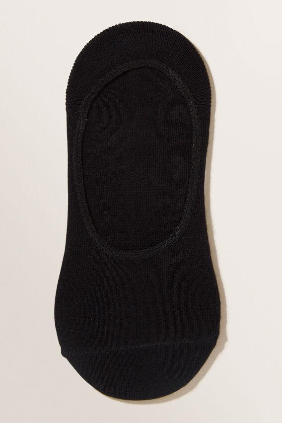 No Show Socks  BLACK  hi-res