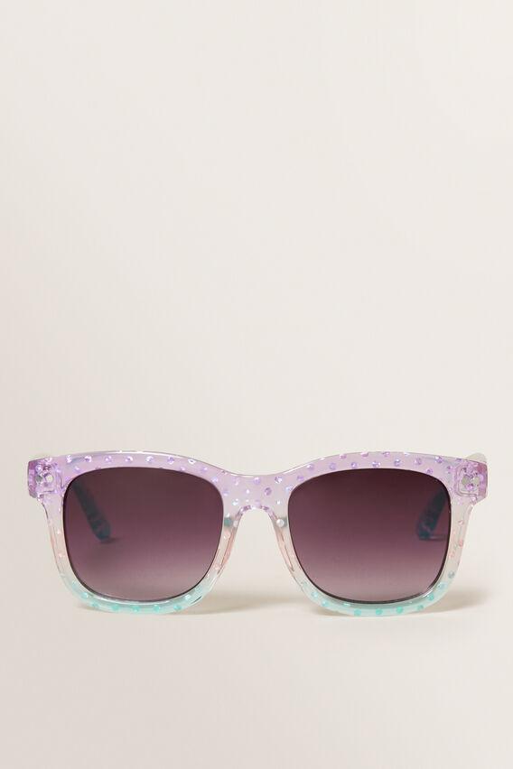 Ombre Foil Spot Sunglasses  MULTI  hi-res