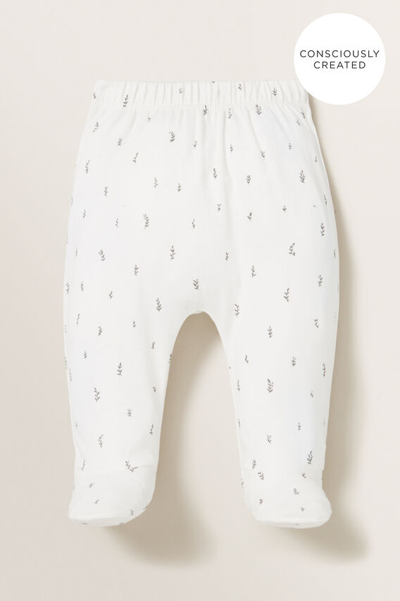 Organic Footed Leggings  CANVAS  hi-res