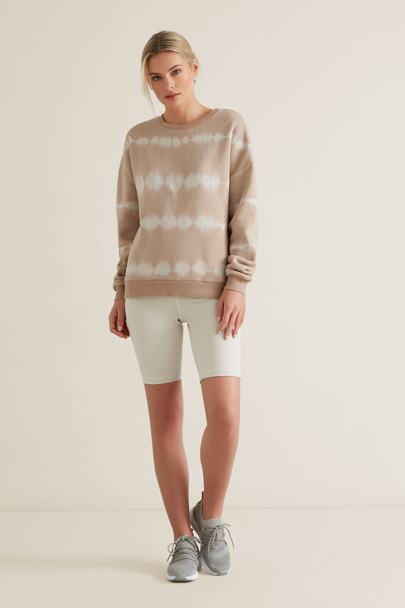Tie Dye Sweater  NEUTRAL BEIGE  hi-res