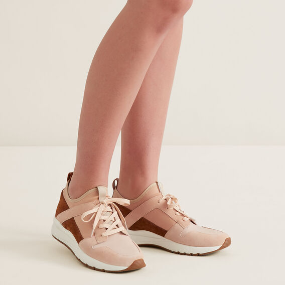 Maria Leather Sneaker  BLUSH  hi-res