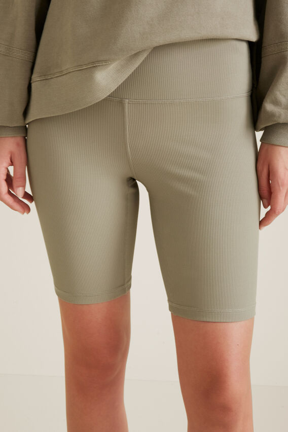 Leisure Rib Bike Short  SOFT KHAKI  hi-res