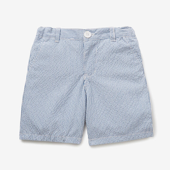 Seersucker Chino Short  DUSTY BLUE  hi-res