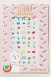 Llama Nail Stickers, MULTI, hi-res