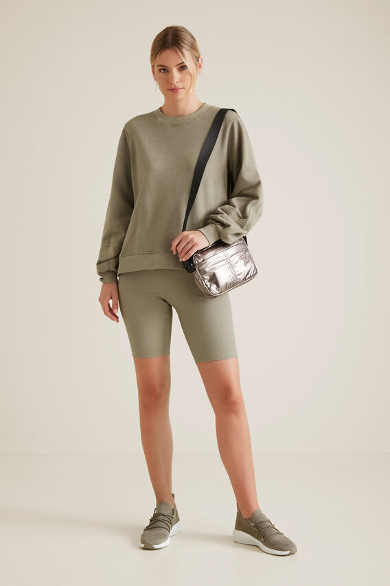 Blouson Sleeve Sweater  SOFT KHAKI  hi-res