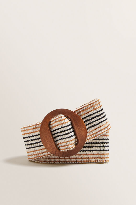 Timber Buckle Belt  NATURAL  hi-res