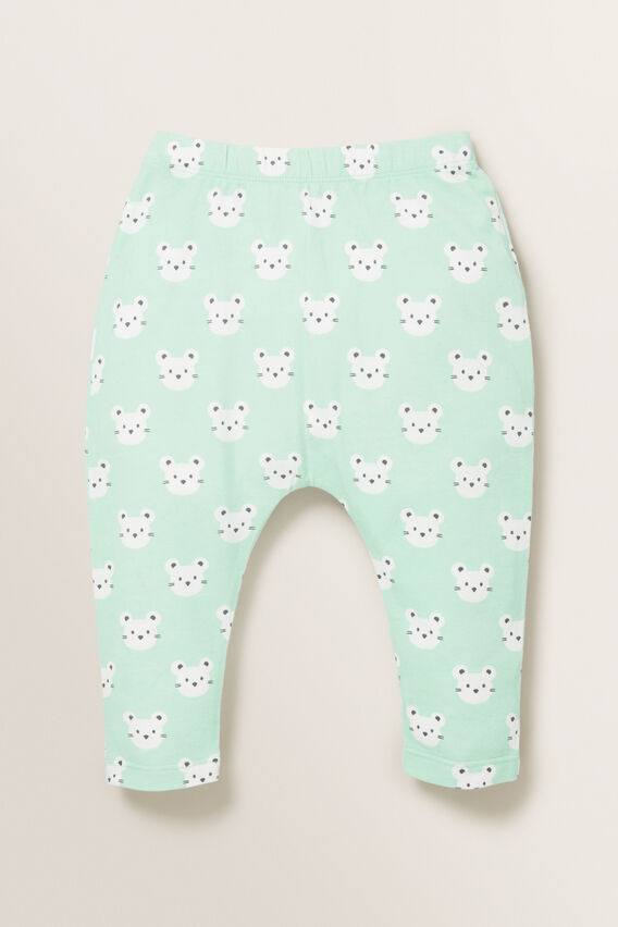 Mouse Print Legging  COOL MINT  hi-res