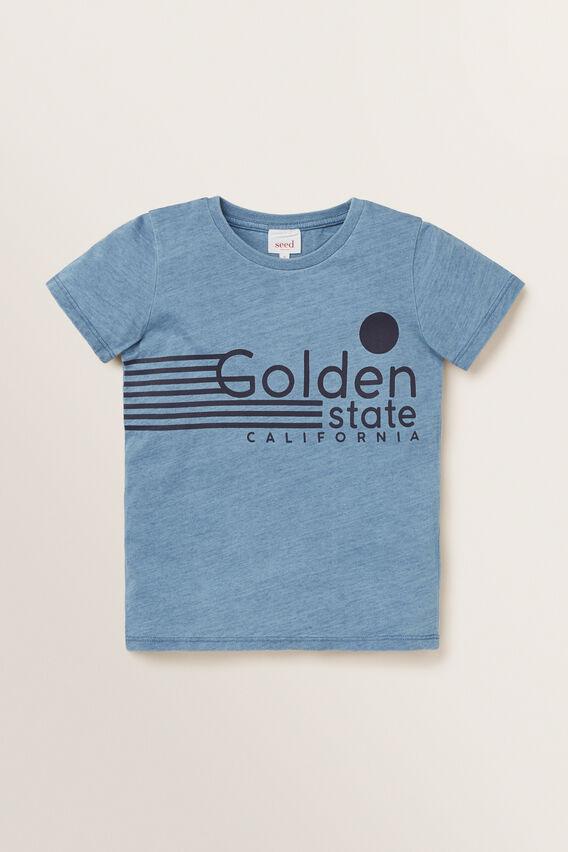 Golden State Tee  LIGHT INDIGO  hi-res