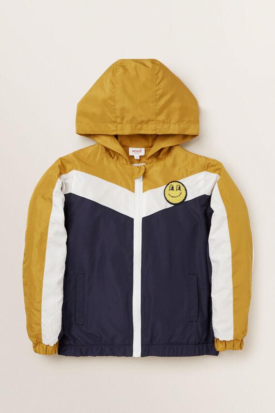 Sporty Spray Jacket  OCHRE  hi-res