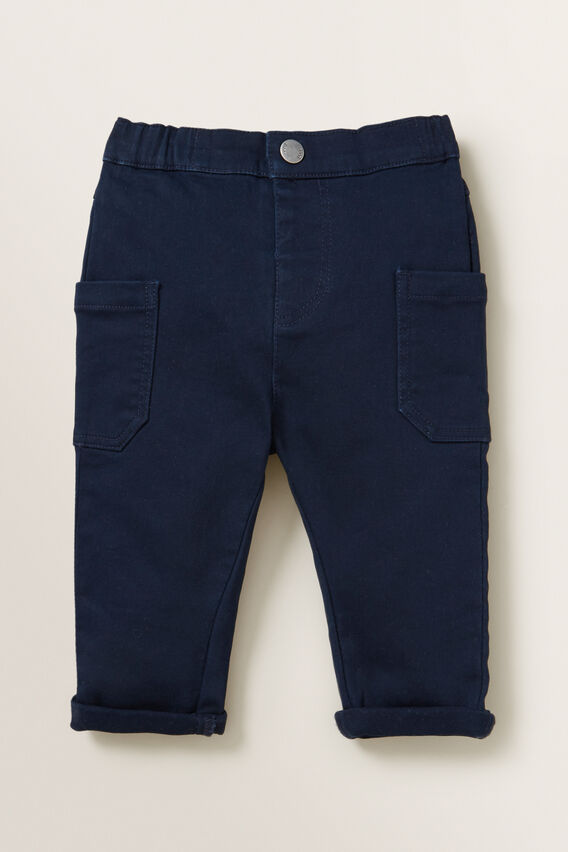 Knit Denim Chino Pant  MIDNIGHT BLUE  hi-res