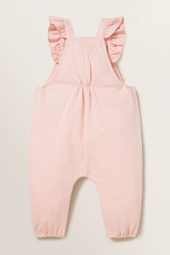 Terry Dungaree  DUSTY ROSE  hi-res