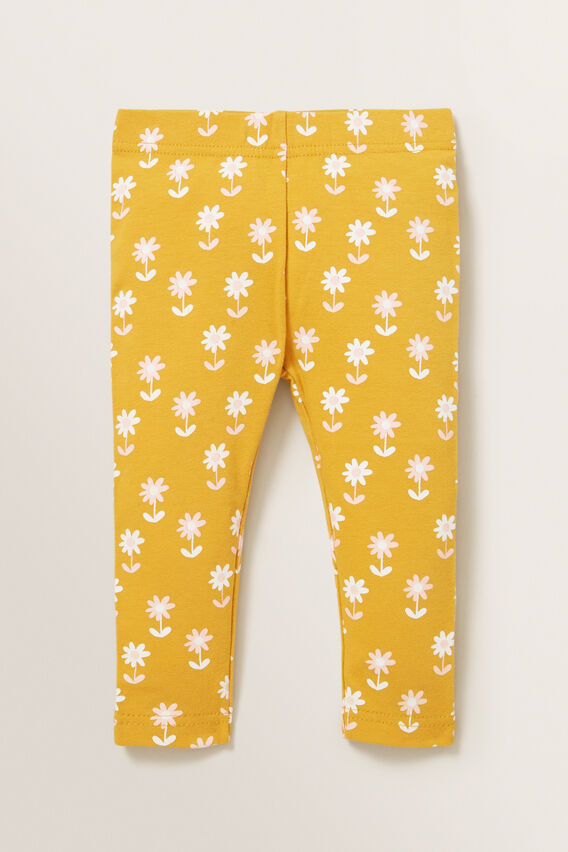 Daisy Legging  OCHRE  hi-res