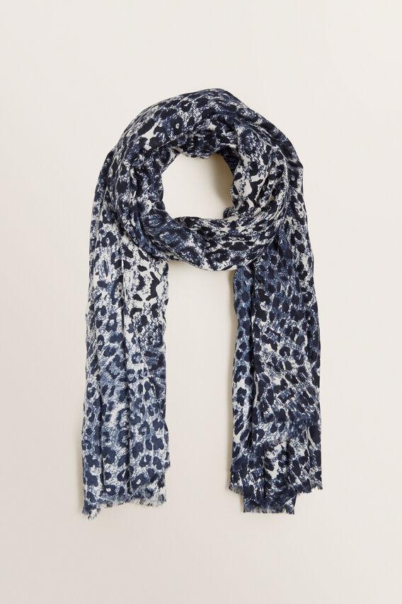 Ocelot Scarf  BLUE IRIS  hi-res