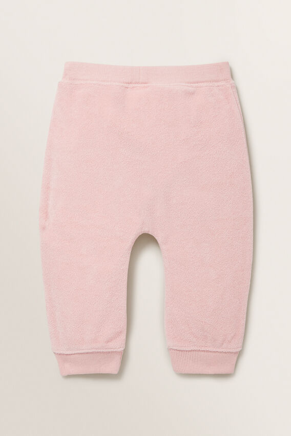 Terry Towelling Trackie  DUSTY ROSE  hi-res