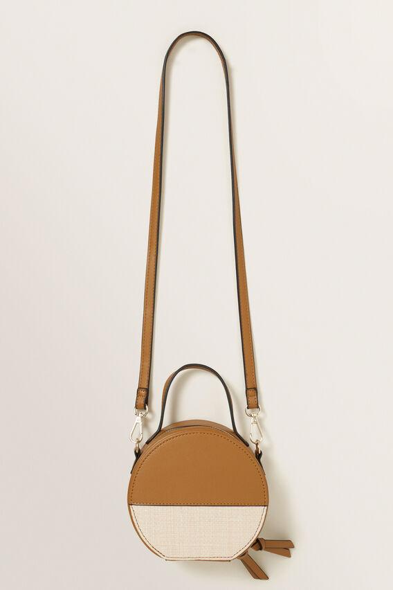Splice Circle Bag  TAN  hi-res