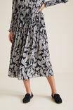 Paisley Skirt, IRIS PAISLEY, hi-res