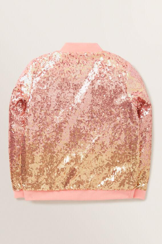 Ombre Sequin Jacket  MULTI  hi-res